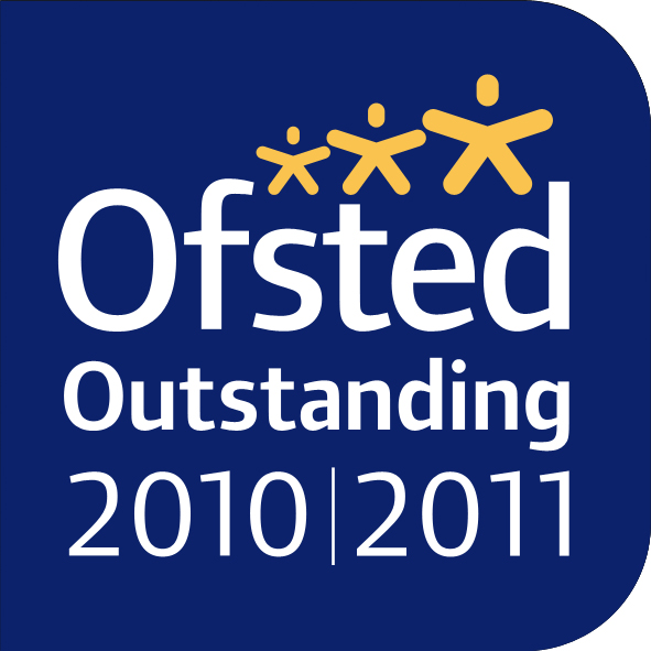 Ofsted 2011 Outstanding logo